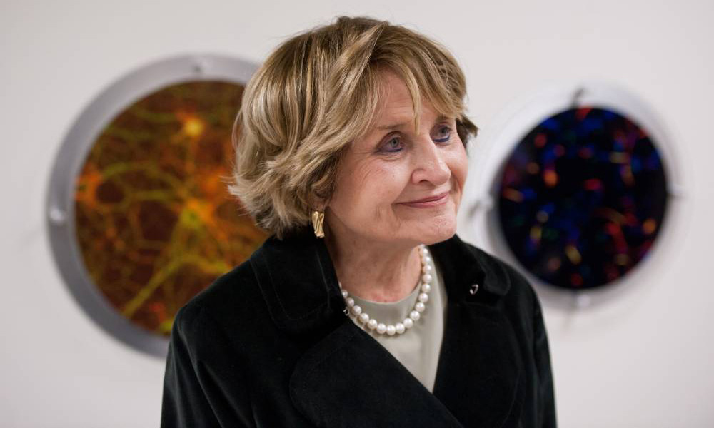 portrait of the late congresswoman Louise Slaughter