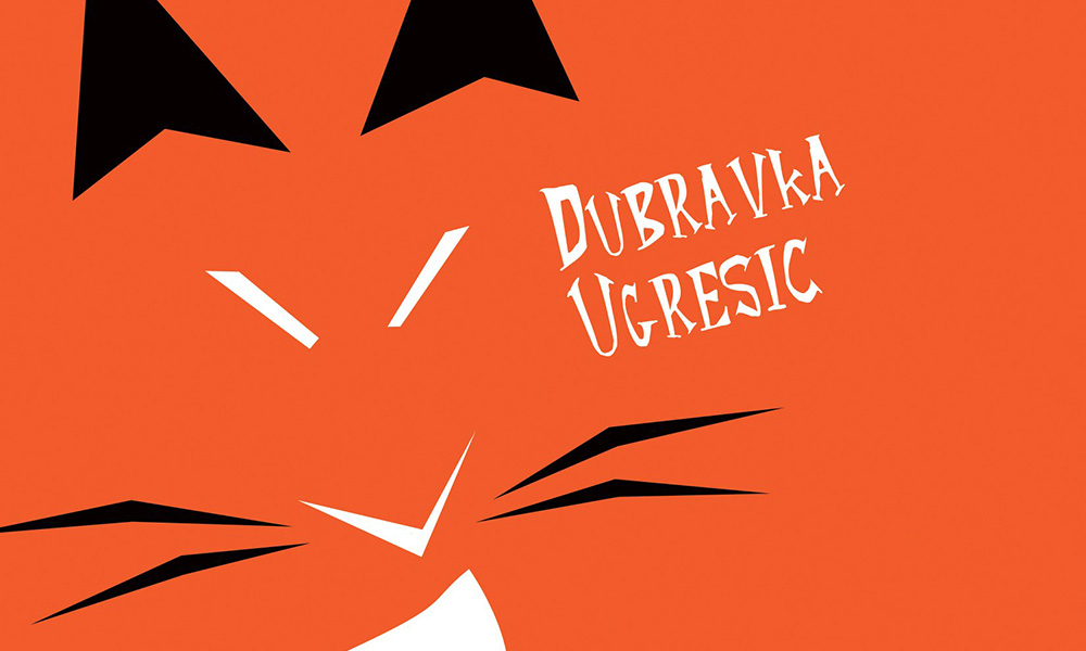 detail from the book cover of Dubravka Ugresic's Fox.