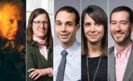 five portraits of faculty mentors