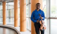 Violist finds his home at Eastman School of Music