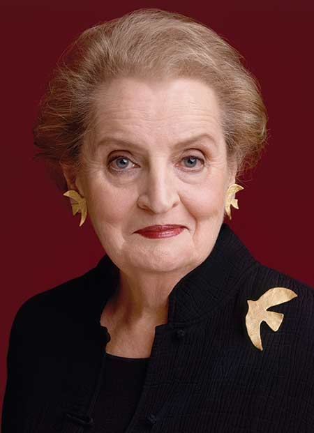 portrait of Madeleine Albright