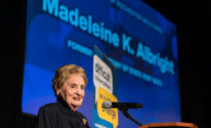An evening with Secretary Madeleine Albright