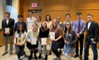 Sixteen College students honored with O'Brien Book Award