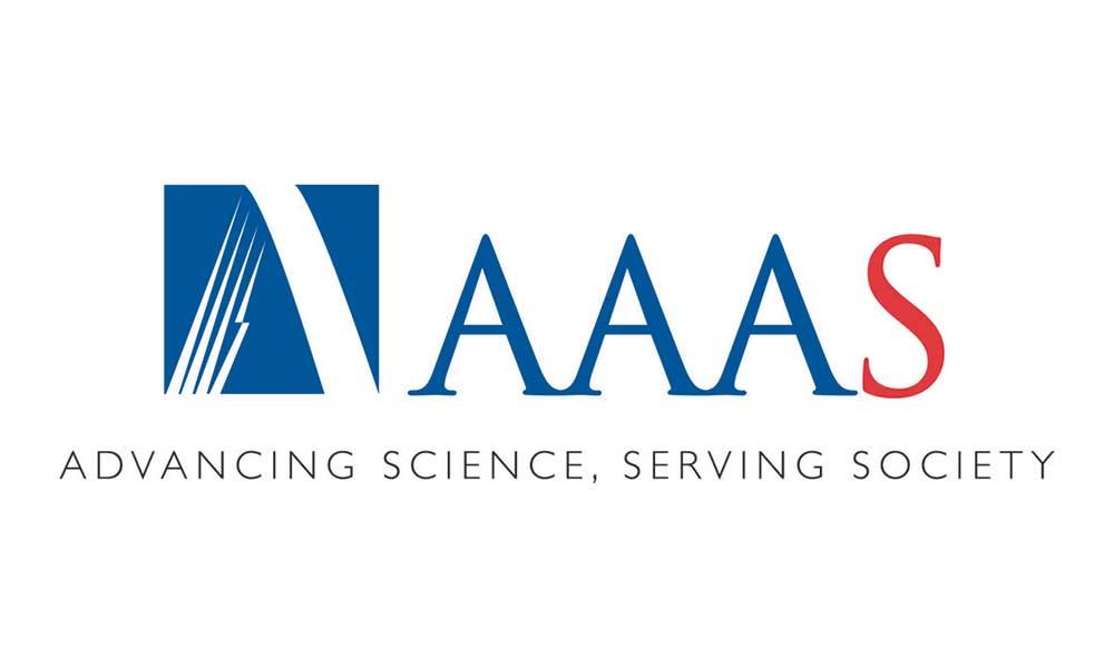 AAAS logo.