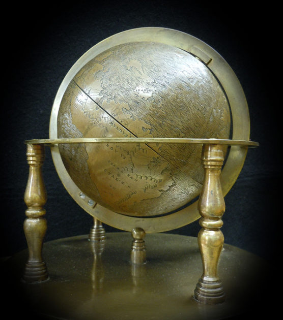 image of hunt-lenox globe in armature
