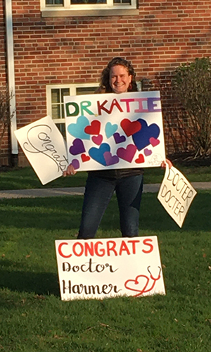 image of MD graduate Katie Harmer