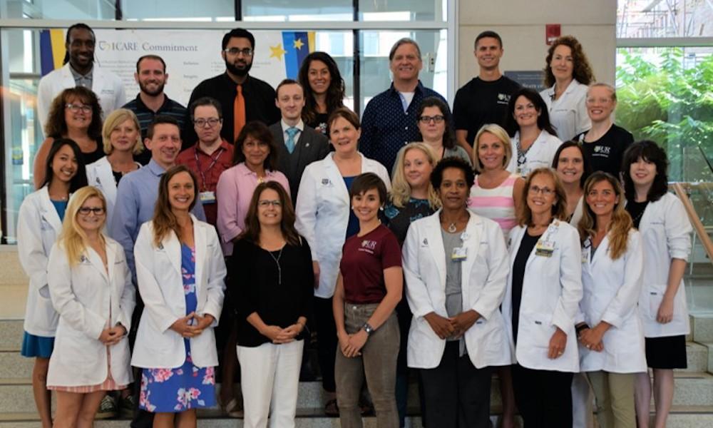 group photo of Employee Wellness Team