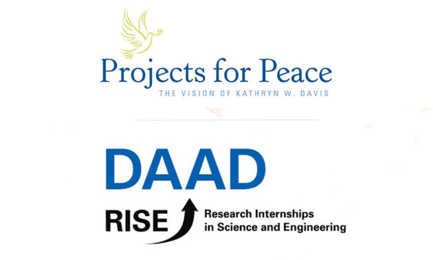 Logos of David Projects and DAAD Rise juxtaposed.