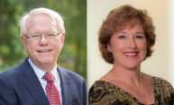 Board elects two members, honors three life trustees