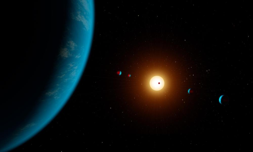 exoplanets orbit a sun beyond our solar system.