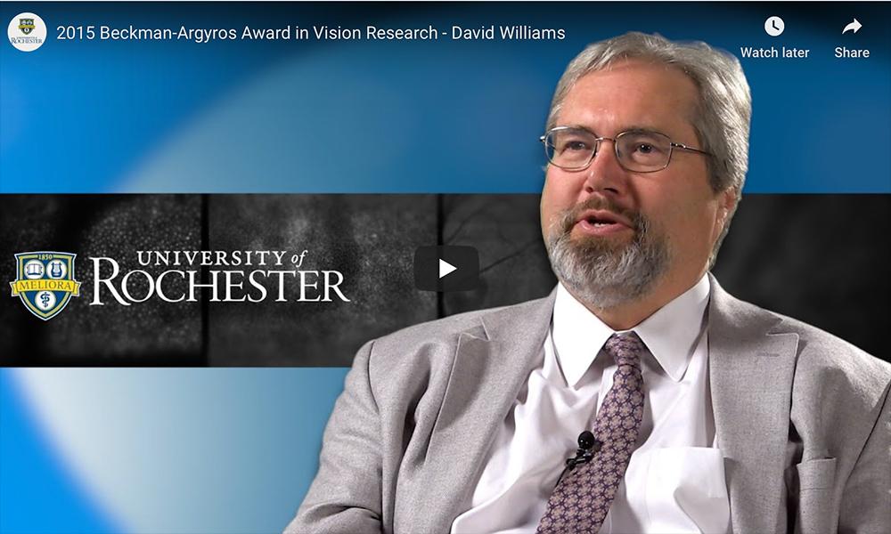 screenshot of david williams video