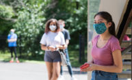 Students keep busy during two-week quarantine