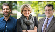 Three professors earn honors for teaching excellence
