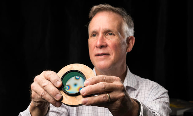 stress engineered optical glass