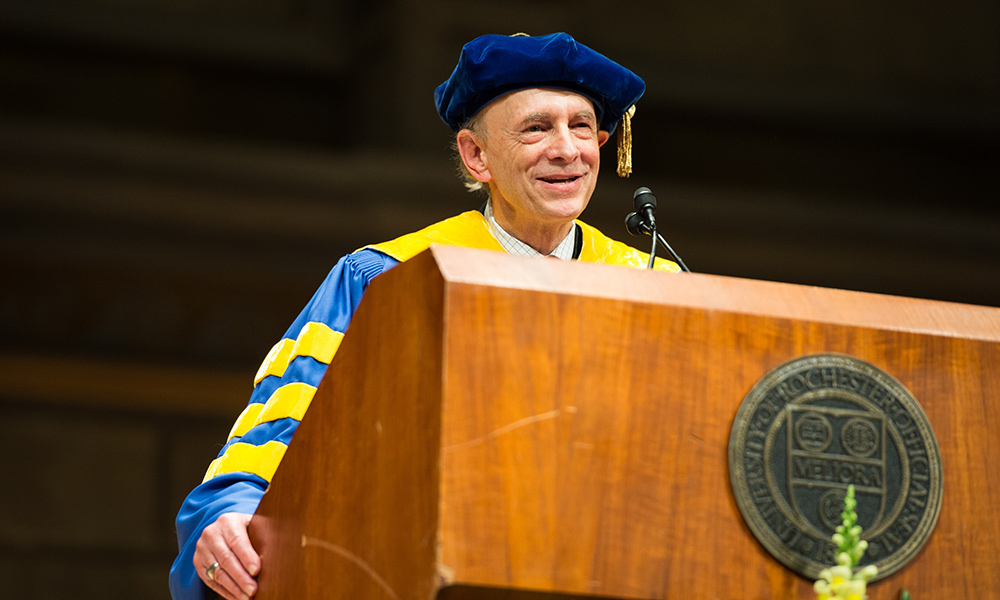 University of Rochester Nobel laureate Harvey Alter