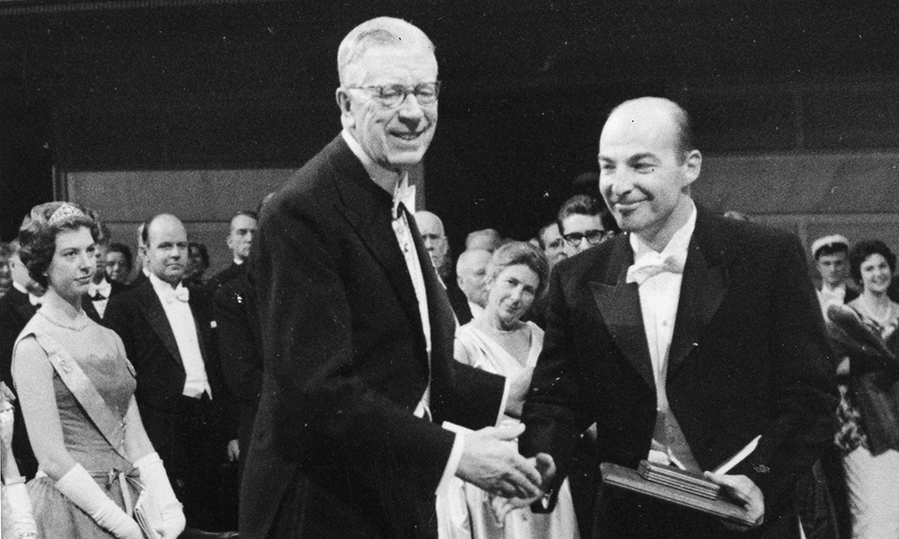 Nobel Prize: Arthur Kornberg '41M (MD)