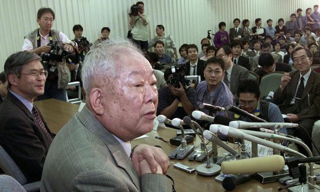 Nobel Prize Masatoshi Koshiba (2002)