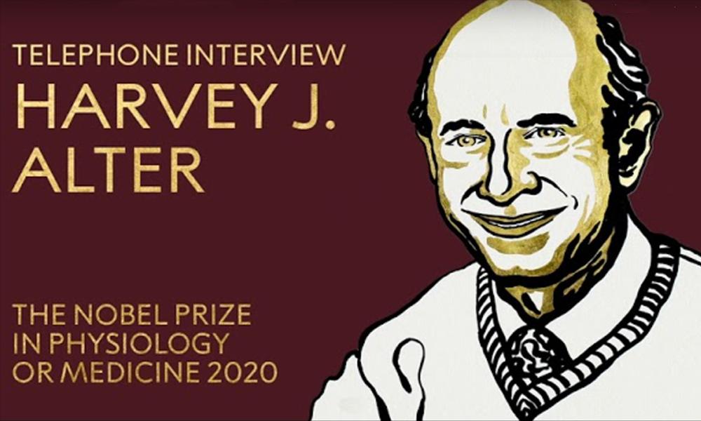 screenshot of harvey alter from Nobel site