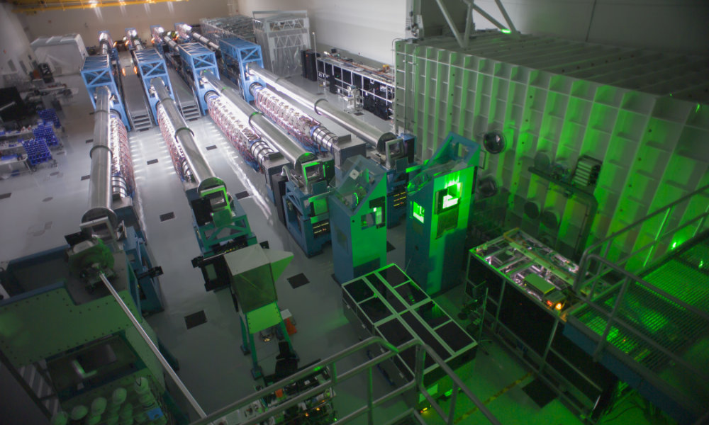 LaserNetUs funding expands access to four-beam OMEGA laser.