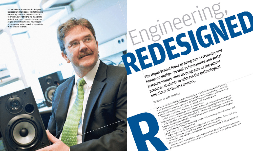 image of rochester review story about engineering