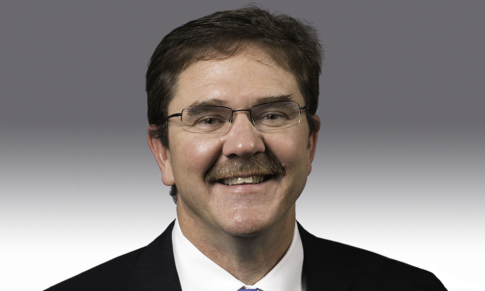 image of Rob Clark, senior vp for research