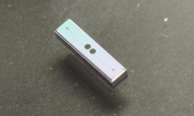 Example of an optical chip sensor.