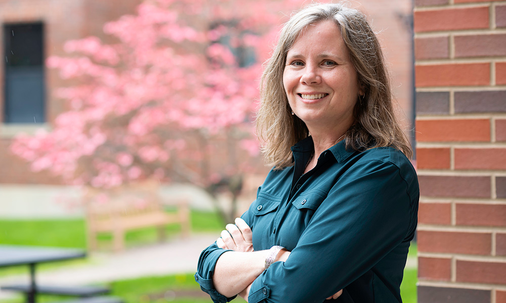 2021 Commencement: Doctor of nursing practice candidate Lynn Cole