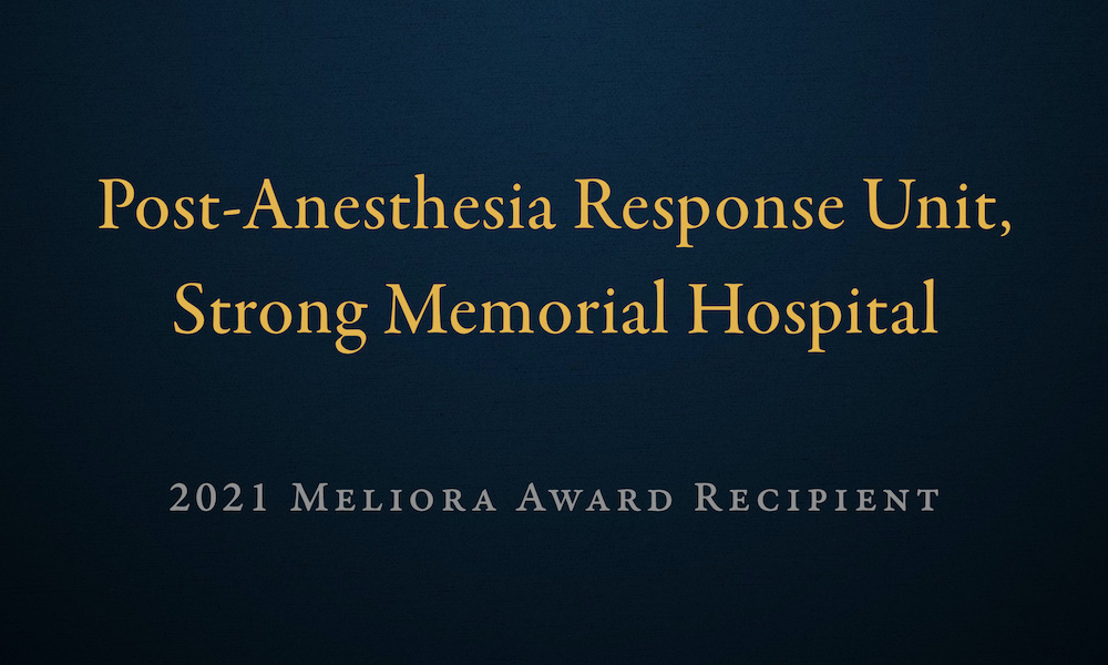 graphic that reads Post-Anesthesia Response Unit
