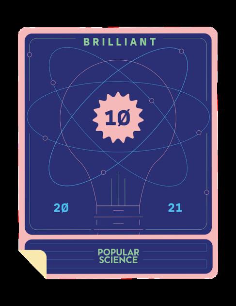 brilliant 10 badge