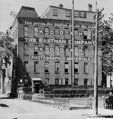 eastman kodak company At the close of the war in 1918, eastman kodak founder, george eastman, was  determined to have an independent supply of chemicals for his photographic.