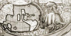 Amerigo Vespucci Map Of America.Rochester Review University Of Rochester