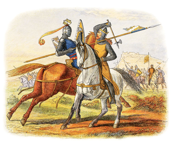 the popularity of the chivalric tournaments in the middle ages Knights in the middle ages from tournament to tournament living off the prize round table were the epitome of chivalric ideals—courteous.