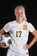 Kailee Sowers in a Rochester soccer uniform
