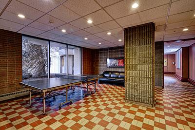 Goler House lobby