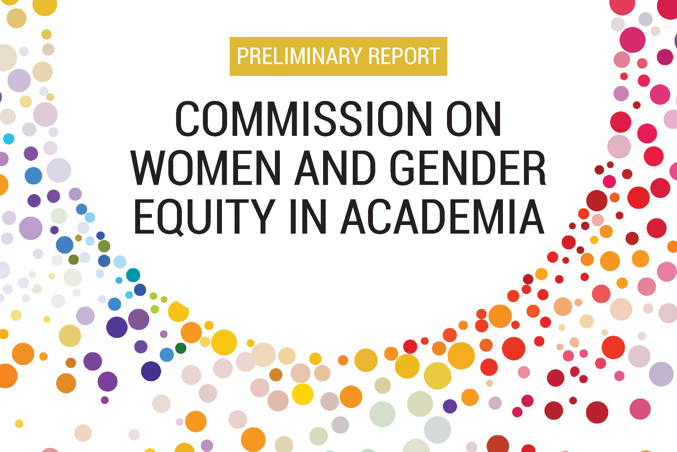 University of Rochester Commission on Women and Gender Equity in Academia co-chairs Amy Lerner and Antoinette Esce