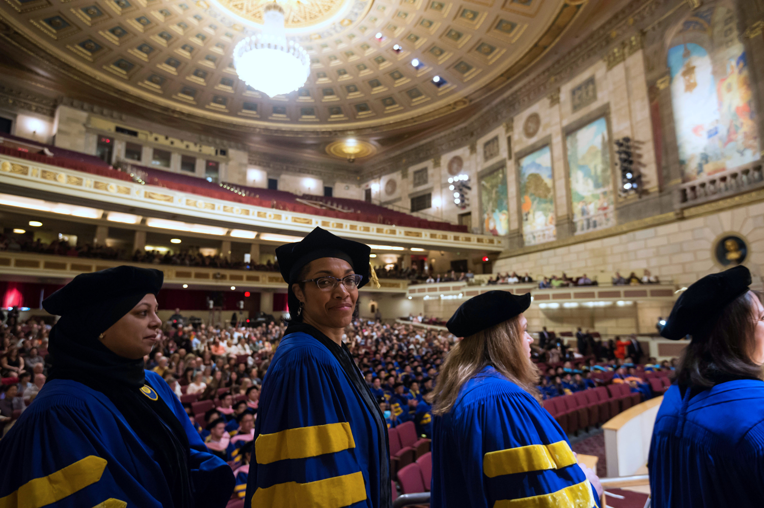 Graduation from University of Rochester