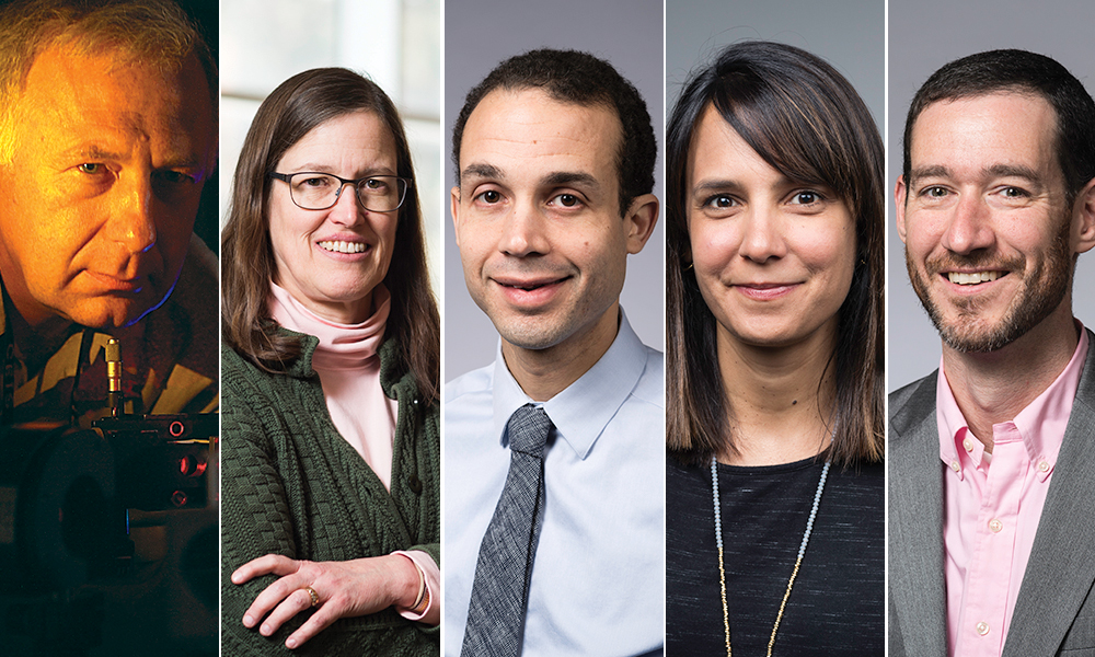 five portraits of faculty mentors