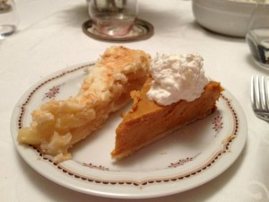 Apple and Pumpkin Pie