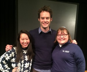 Courtney and Bill Hader
