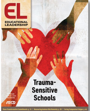 Cover of Educational Leadership with heart and hands