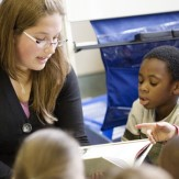 teaching reading to students